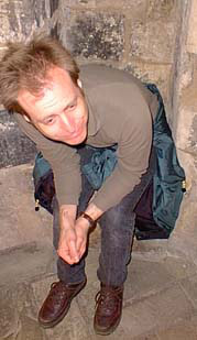 Henry on Medieval toilet